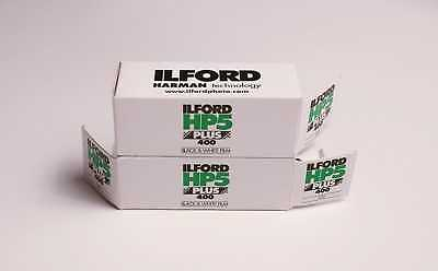 2x Ilford HP5 Plus ISO 400 120 Black & White Roll Film Medium Format