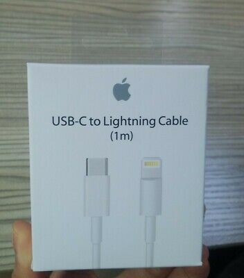 BNIB Genuine Apple iPhone USB C to Lightning Fast Charging Cable 1 m