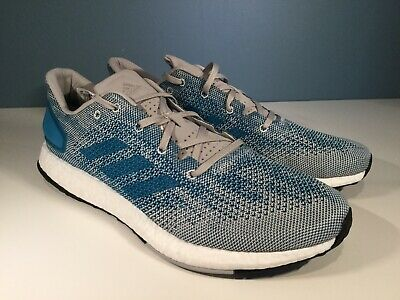 21e29c79f862 NEW IN BOX ADIDAS Mens 11 PureBOOST DPR LTD Running SHOES Black Blue ...