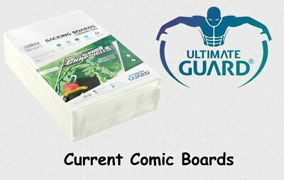 Ultimate Guard - 100 Current Comic Book Backing Boards NEU! OVP!