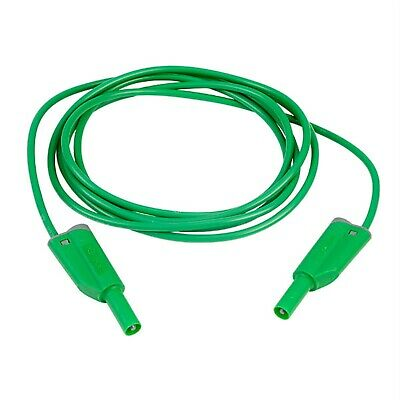 PJP 2612-IEC-200V 200cm Green Stack Safety Lead