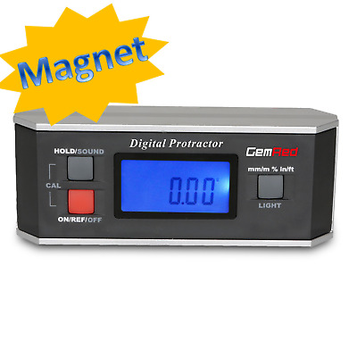 82413 Digital Protractor Angle Finder Gauge Inclinometer Battery included