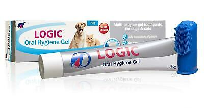 Oral Hygiene Gel Dogs Cats Toothpaste Tooth Paste Dental Dog Cat Teeth Brush Bad