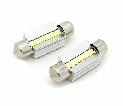 36mm 5 LED 3030SMD CANBUS ERROR FREE NUMBER PLATE BULBS Fits Audi A2 03+