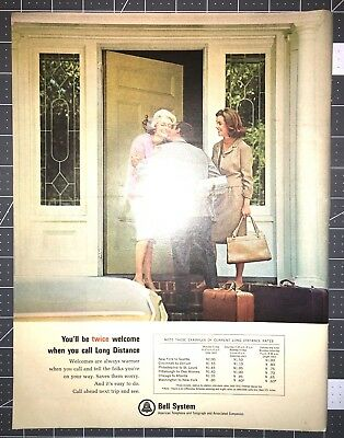 Life Magazine Ad BELL SYSTEM American Telephone and Telegraph
