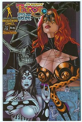 Broadsword Comics - Tarot: Witch of the Black Rose #58 - A & B Covers