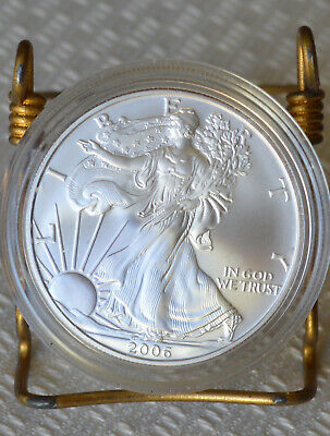2006 W American Silver Eagle, Mint encapsulated