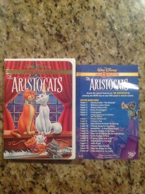 The Aristocats (DVD, 2000, Gold Collection)Authentic Disney US Release