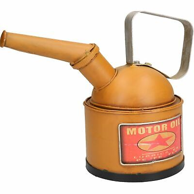 Oil Can Metal Model Sculpture Statue Decoration Replica Money Box Bank Coin