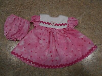 "VINTAGE CHATTY CATHY 18-20/"" NEW HANDMADE W//LOVE 2 PC.MINNIE MOUSE-PINK OUTFIT"