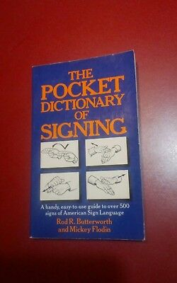 Pocket Dictionary of Signing