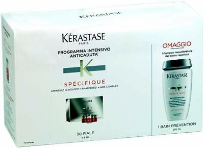 Kerastase Kit Aminexil Specifique Intensivo Anti-Caduta 30 Fiale Shampoo 250ml