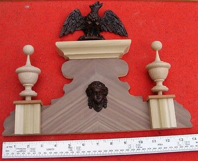 bespoke listing for 6c (medium) Replacement Vienna wall clock top crown topper