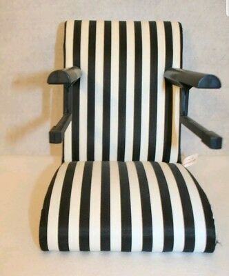 American Girl Table Chair For Dolls Cafe Seat High Chair Striped