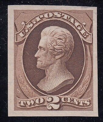 TDStamps: US Stamps Scott#157P3 Unused LH NG Tiny Thin Proof