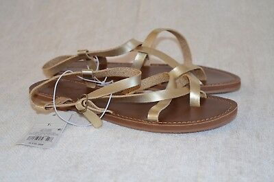 0648f43211c Women s Lavinia Toe Wrap Thong Sandal - Universal Thread Gold - Size 7.5 New