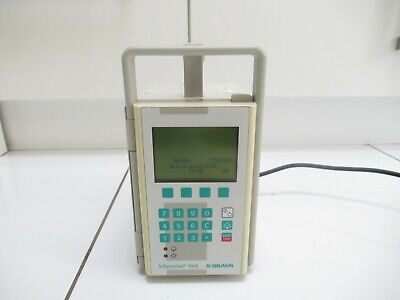 B Braun Infusomat Fm Compact Volumetric Peristaltic Infusion Iv Pump*german*uk