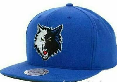 reputable site 5dcc2 17cd9 Minnesota Timberwolves Mitchell   Ness NBA Snapback Hat Cap Wool Wolves