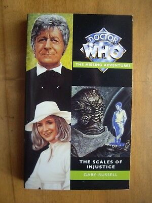 Doctor Who The Scales of Injustice, 1996 Virgin Missing Adventures, paperback