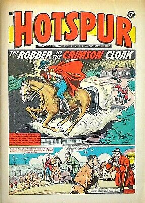 HOTSPUR #500 - 17th MAY 1969 (15 - 21 May) RARE 60th BIRTHDAY GIFT !! VG+..dandy
