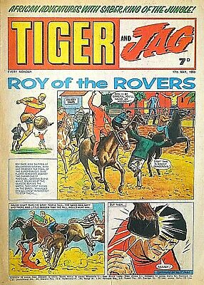 TIGER & JAG #7 - 17th MAY 1969 (12- 18 May) RARE 50th BIRTHDAY GIFT !! VGC eagle