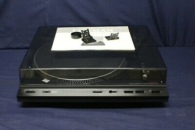 Luxman P-100 Turntable with Original Box and Manual Needs New Needle F1