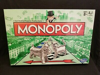 Monopoly Board Game2016By HasbroAges 8+. 2-6 Players New Sealed In Box