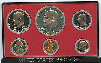 1976 United States PROOF Coin Set - US Mint Official - Bicentennial - Authentic