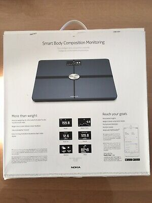 Smart Body Composition Wifi Scale  BODY+ Marque Nokia (Withings)