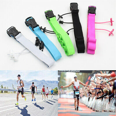 High quality Sports Tool Running Waist Pack Race Number Belt Cloth Bib Holder