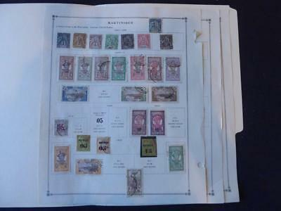 Martinique 1892-1940  Mint/Used Stamp Collection on Scott Intl Alb Pgs