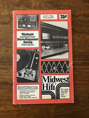 1975 Midwest Hifi Catalog. Wholesale Stereo Components.