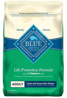 BLUE Life Protection Formula ~ All Breeds Adult ~ Lamb & Brown Rice ~ 30 lb !!!