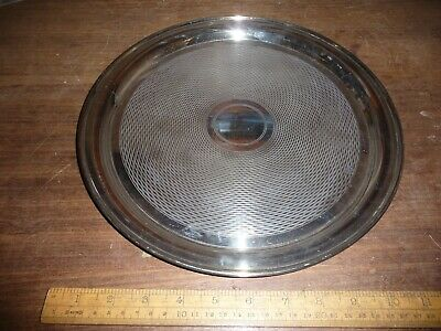 Good quality Antique / Vintage Mappin & Webb 12 in.  Silver Plated serving tray