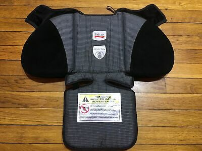 Britax Advocate 70 Cs G3 Booster Kids Car Seat Black Gray Cover Cushion Fabric