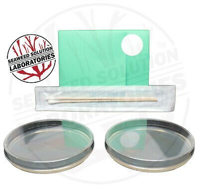 Sterilized Nutrient Agar 2, 100mm x 15mm Plates + Sterile Swabs
