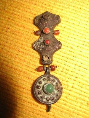 Antique Ancient Earring Authentic Jewelry Very Old RARE !