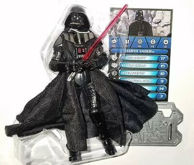 "Star Wars DARTH VADER 3.75"" Figure Removable Helmet Hoth Assault Exclusive"