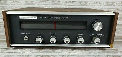 Vintage North American AM-FM-FM MPX Stereo System Tested Works Made In Japan