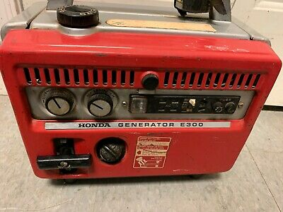 1965 Honda E 300 Generator Works Great! W/ Manual