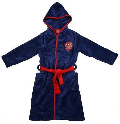 Arsenal kids dressing gown / Childrens bathrobe (boys childs robe pjs pajamas)