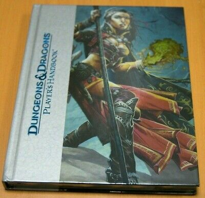 Dungeons & Dragons Players Deluxe Edition Handbook 4th Edition