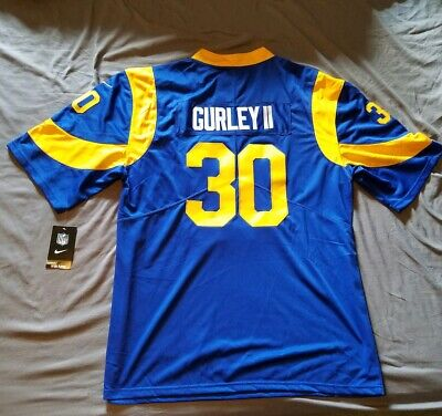 brand new 4aaf5 90064 LOS ANGELES RAMS #30 Todd Gurley II Men's Stitched Jersey Size Nike XL NWT