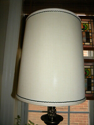 Vintage Drum Barrel Lamp Shade 15 Tall