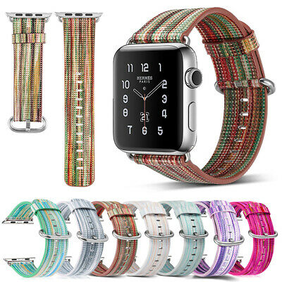 40mm/44mm Slim Genuine Leather iWatch Band Women Strap for Apple Watch Series 4