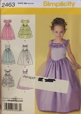 Simplicity Sewing Pattern 8271 Childs and Girls Dress and Jacket