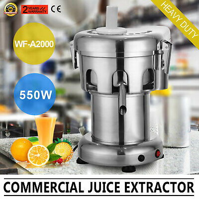 Commercial juice Extractor Heavy Duty 2800RPM 100~120Kg/Hour For Stor&Home USE