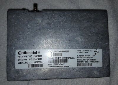 Gm Chevrolet Cadillac On Star Computer Vcim Module 25826499 Oem
