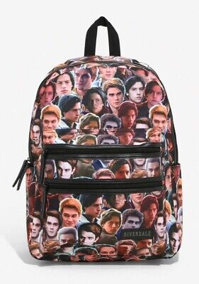 CLEARANCE SALE NWT Riverdale ARCHIE & JUGHEAD Canvas Backpack HOT TOPIC