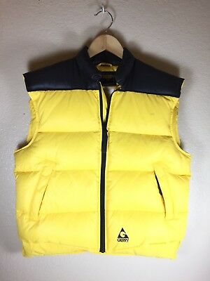 Vintage Gerry 70s 80s Winter Ski / Hipster Style Puffy Down Vest Small S